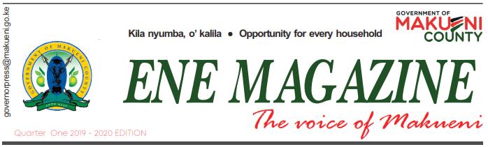 ENE Magazine Quarter 1 2019 issue